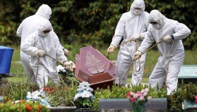 مرگ ۳۸۸۶ آمریکایی در ۲۴ ساعت گذشته مرگ ۳۸۸۶ آمریکایی, آمریکا