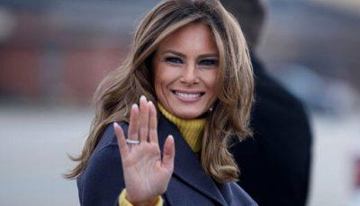 ملانیا ترامپ خداحافظی کرد ملانیا ترامپ, کاخ سفید