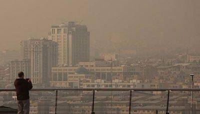 هشدار؛ هوای تهران در وضعیت خطرناک قرار گرفت