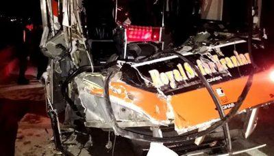 واژگونی اتوبوس در جاده قم/ ۱۵ نفر مصدوم شدند