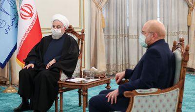 واکنش به توهین قالیباف به روحانی از تریبون باز مجلس روحانی, قالیباف, مجلس