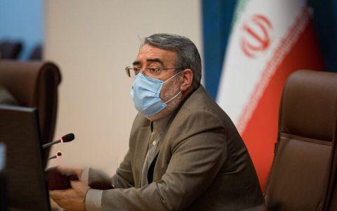 وزیر کشور تصمیمی درباره تعطیلی تهران گرفته نشده است وزیر کشور, تعطیلی تهران