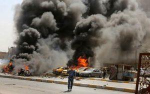 وقوع 2 انفجار در مرکز بغداد/ فیلم