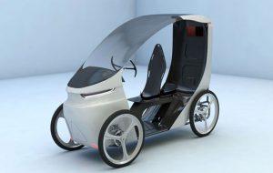 چهارچرخه برقی CityQ معرفی شد اقتصادی