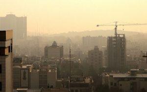 کیفیت هوای تهران در شرایط ناسالم برای گروههای حساس