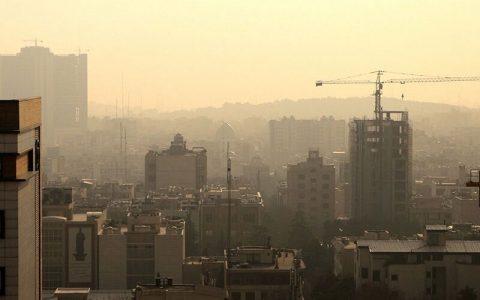 کیفیت هوای تهران در شرایط ناسالم برای گروههای حساس شرایط ناسالم, کیفیت هوای تهران