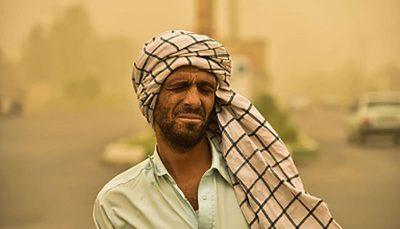 گرد و خاک در سیستان و بلوچستان ۱۳۰ نفر را به مراکز درمانی کشاند