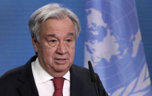 گوترش از دبیرکلی سازمان ملل کنار میرود؟