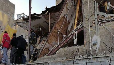 یک کشته و 4 مصدوم بر اثر انفجار گاز در البرز