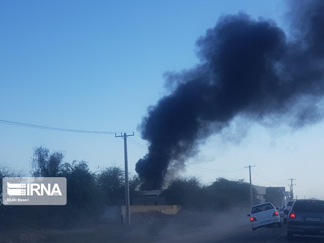 3 کشته بر اثر واژگونی تانکر سوخت در جاده بندرعباس – میناب / عکس