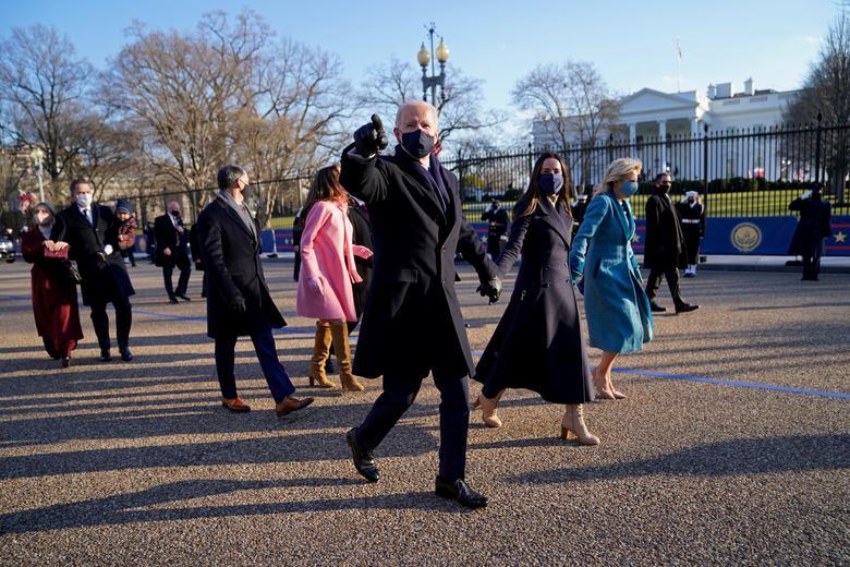 مراسم تحلیف رییس جمهوری جدید آمریکا/ تصاویر