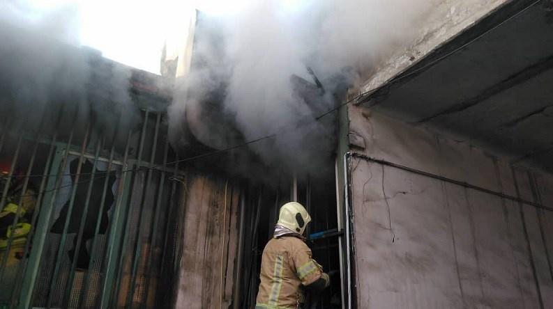 13991020093924114219865910 1 موتور فروشی, خیابان قلمستان, آتش سوزی