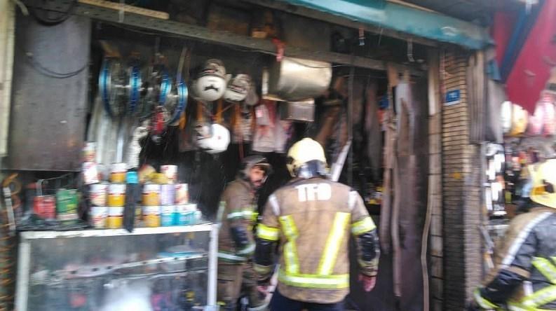 13991020094129364219866610 1 موتور فروشی, خیابان قلمستان, آتش سوزی