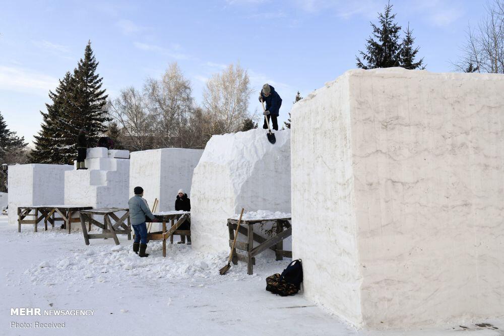 3656971 جشنواره مجسمههای یخی, مسکو