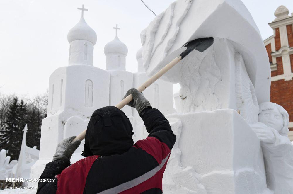 3656972 جشنواره مجسمههای یخی, مسکو