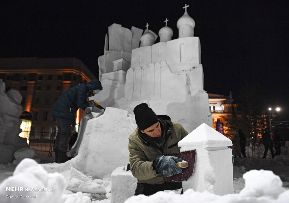 3656974 جشنواره مجسمههای یخی, مسکو