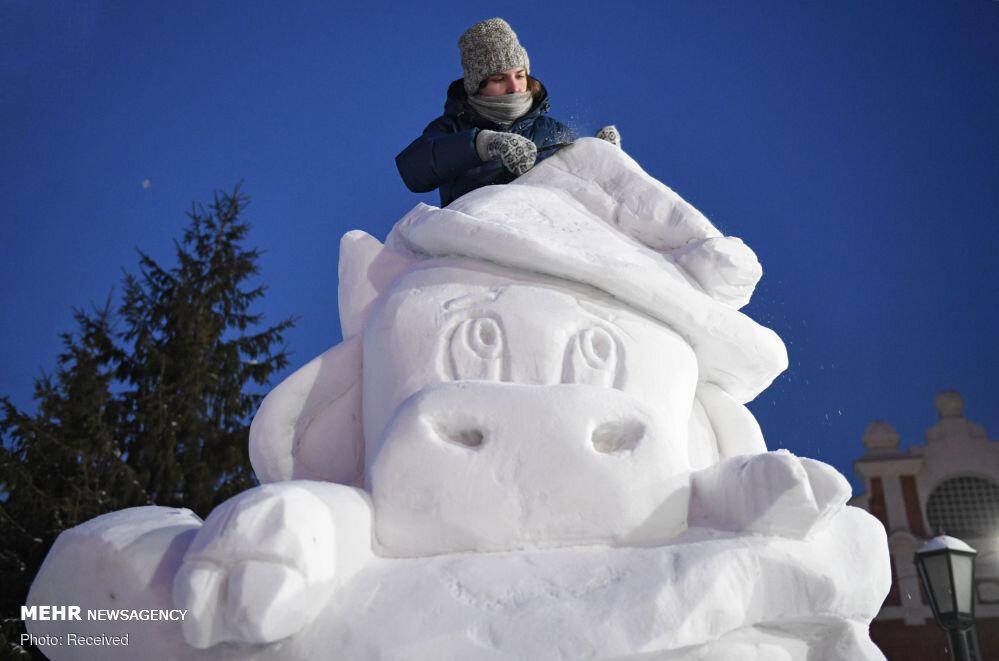 3656977 جشنواره مجسمههای یخی, مسکو