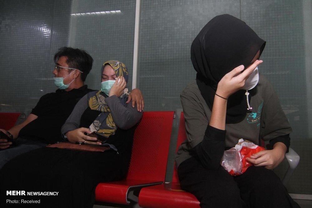 3657153 هواپیمای مسافربری اندونزی, اجساد سرنشینان هواپیما