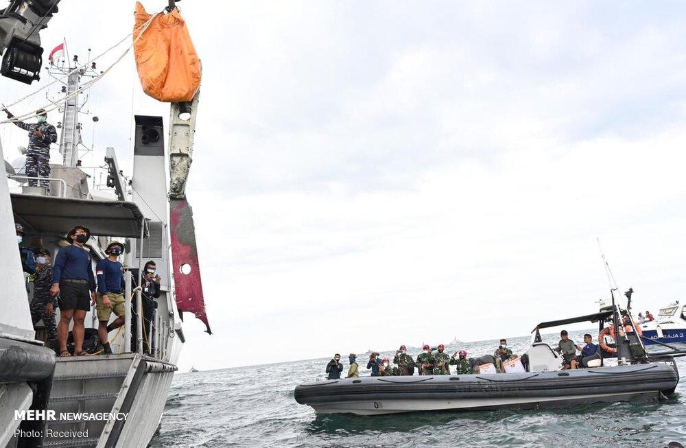 3657154 هواپیمای مسافربری اندونزی, اجساد سرنشینان هواپیما