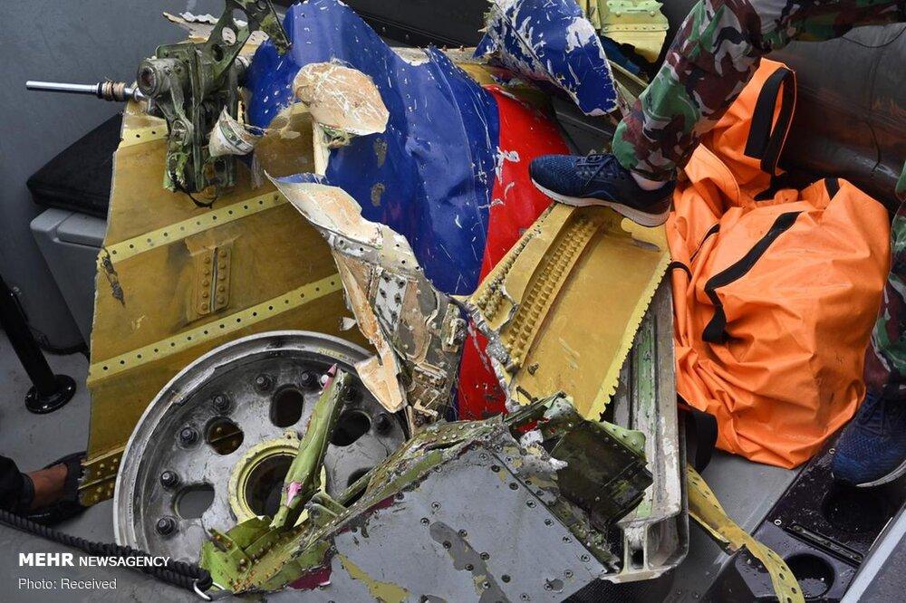 3657155 هواپیمای مسافربری اندونزی, اجساد سرنشینان هواپیما