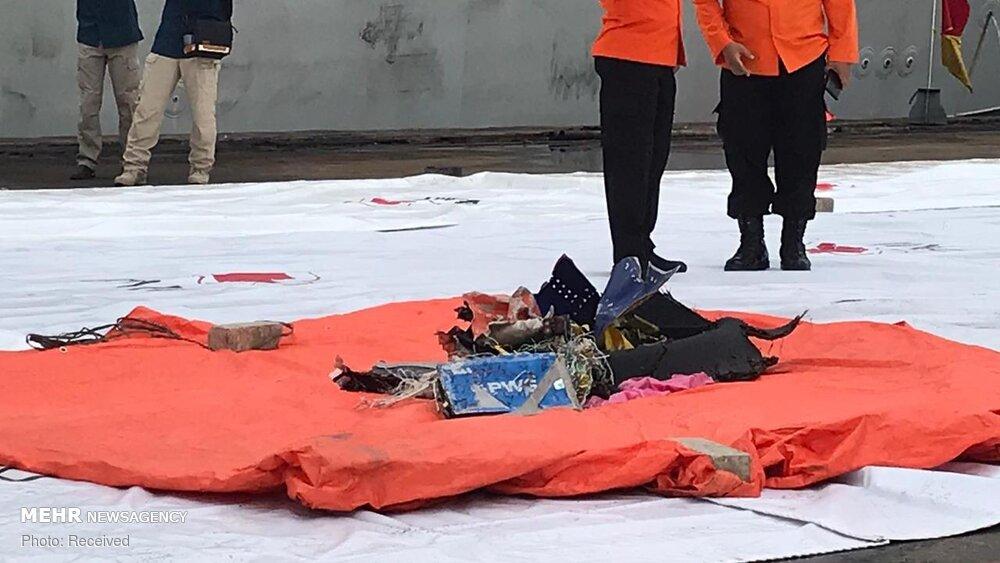 3657159 هواپیمای مسافربری اندونزی, اجساد سرنشینان هواپیما