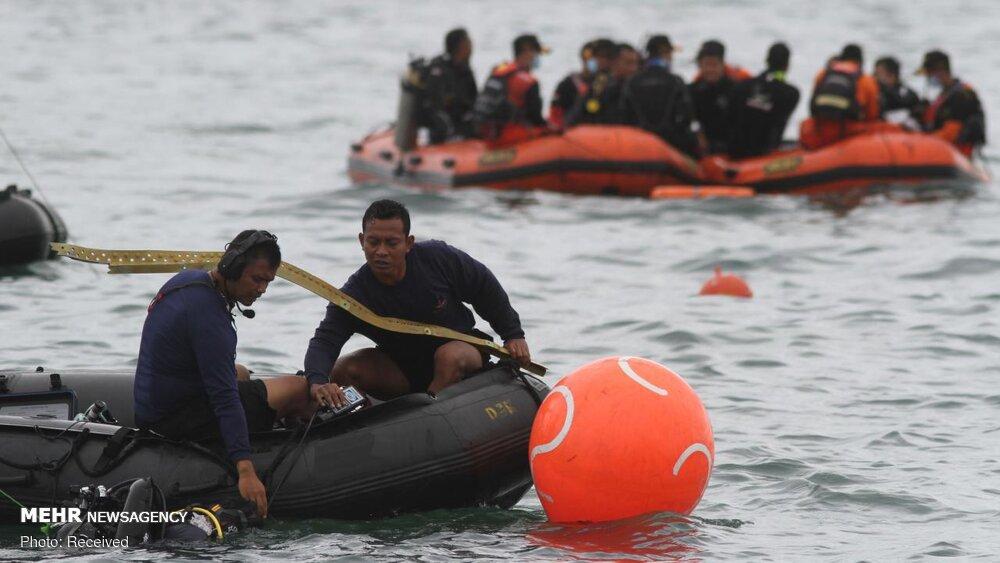 3657161 هواپیمای مسافربری اندونزی, اجساد سرنشینان هواپیما