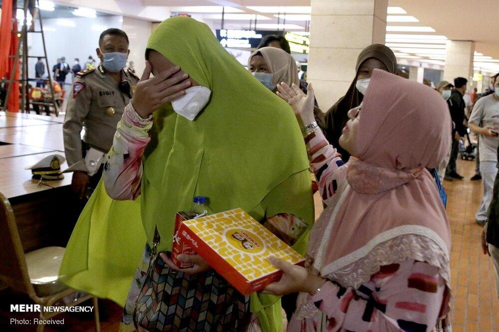 3657167 هواپیمای مسافربری اندونزی, اجساد سرنشینان هواپیما