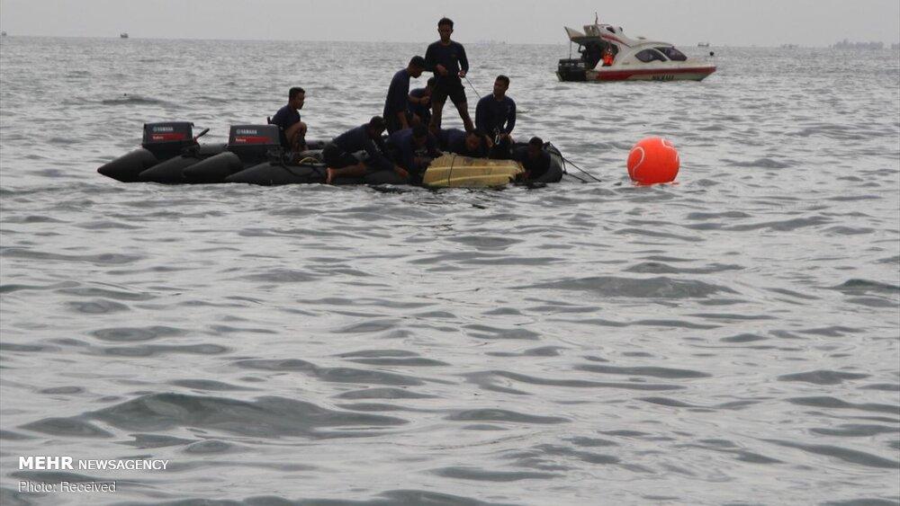 3657170 هواپیمای مسافربری اندونزی, اجساد سرنشینان هواپیما