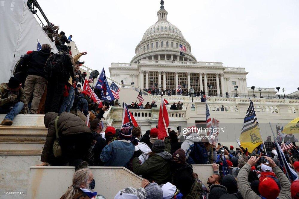 5515807 حمله طرفداران ترامپ, ساختمان کنگره آمریکا, روحانی