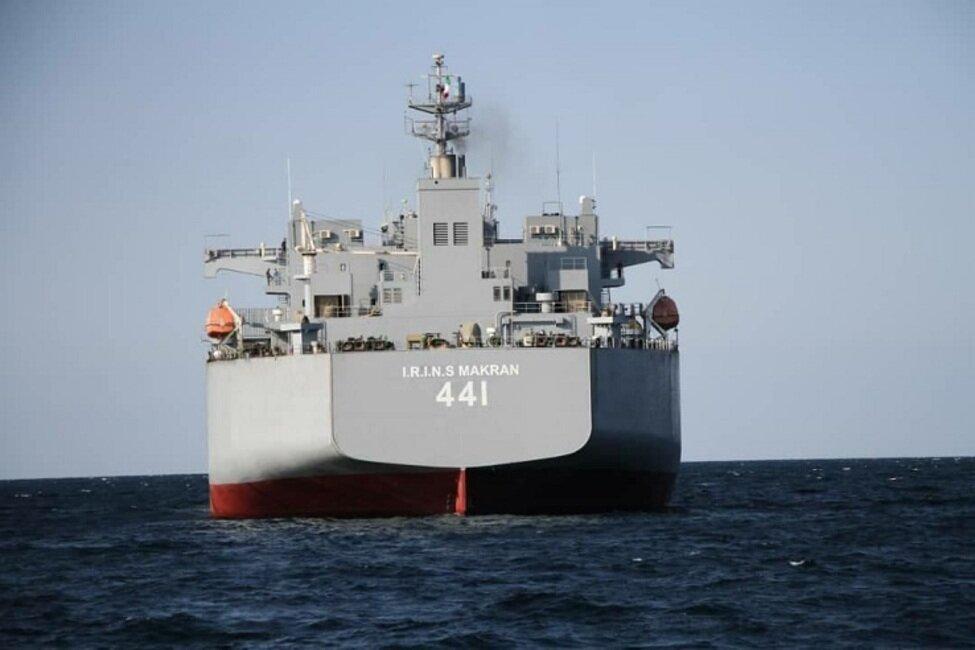 5518205 بزرگترین شناور نظامی ایران