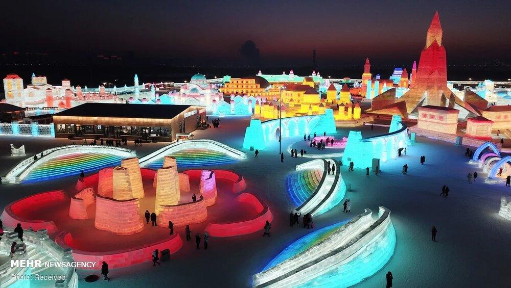 تصاویر: بزرگترین شهر یخی در چین