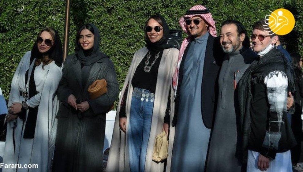 resized 853002 645 نمایش مد لباس زنان, عربستان