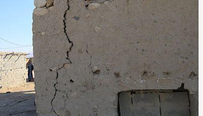 آسیب به ۵ روستا در زمین لرزه مرز مشترک هرمزگان و کرمان