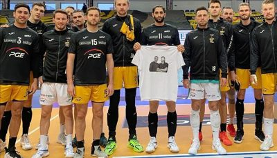 احترام به میناوند و انصاریان در لیگ والیبال اروپا ادای احترام به میناوند و انصاریان در لیگ والیبال اروپا