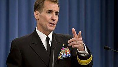 اظهار نظر سخنگوی پنتاگون در خصوص خروج ناو «نیمیتز» از خلیجفارس