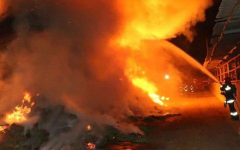انفجار مواد محترقه در خیابان شوش تهران حادثه آفرید
