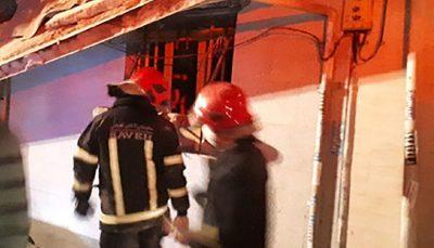 انفجار کپسول گاز در منزل مسکونی حادثه آفرید/ دو نفر مصدوم شدند