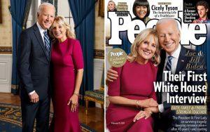 اولین مصاحبه بایدن در کاخ سفید