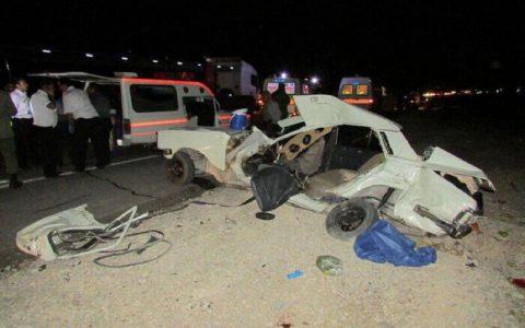 تصادف رانندگی در شاهیندژ ۱۲ مصدوم برجا گذاشت