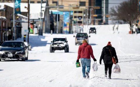 شمار کشته های سرمای مرگبار آمریکا به ۴۰ نفر رسید