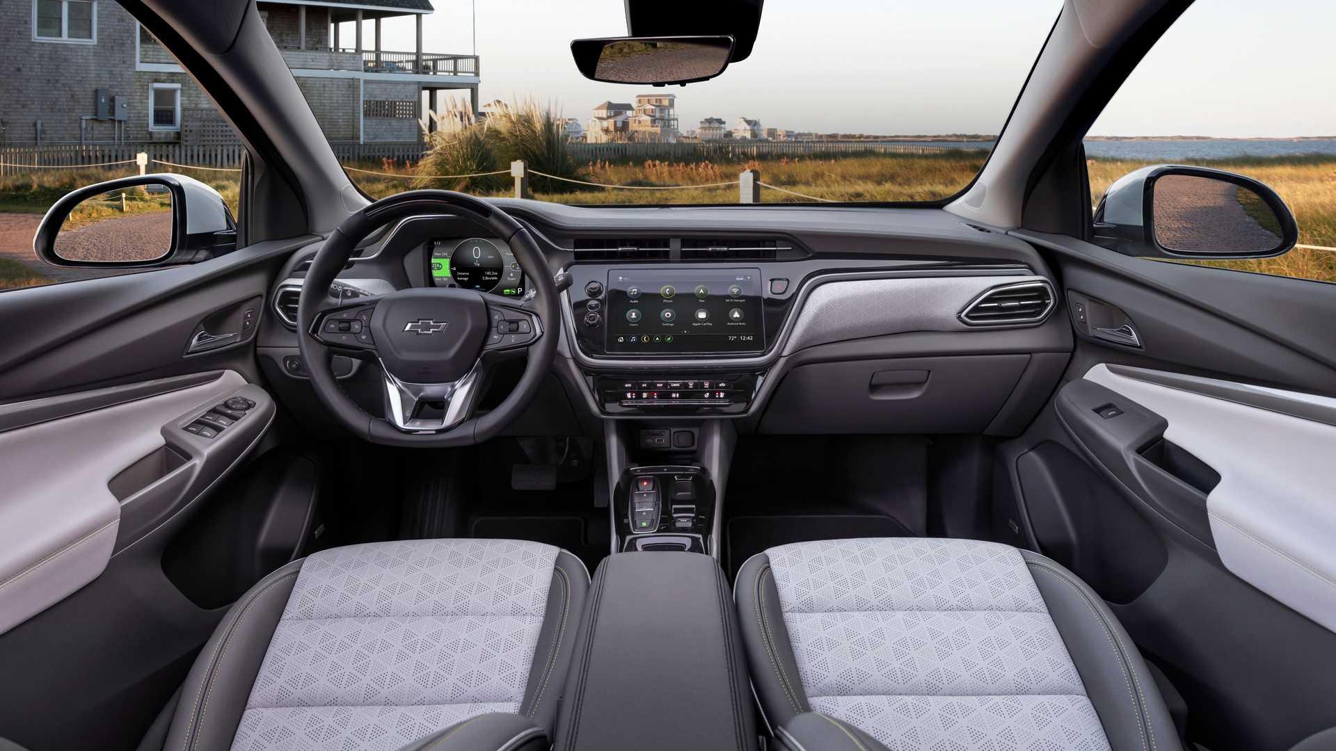 شورولت بولت EV و EUV مدل ۲۰۲۲ معرفی شد