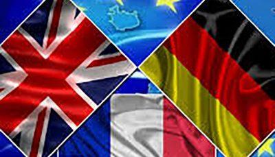 تروئیکای اروپ ابهرهمندی ایران از منافع اقتصادی در ازای پایبندی به برجام پیشنهاد تروئیکای اروپا: بهرهمندی ایران از منافع اقتصادی در ازای پایبندی به برجام