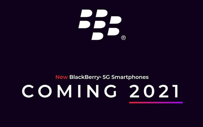 گوشی بلکبری با صفحهکلید فیزیکی و پشتیبانی از 5G، در سال ۲۰۲۱ عرضه خواهد شد