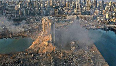 ۵۲ کانتینر حامل مواد شیمیایی بسیار خطرناک در بیروت جمعآوری شد