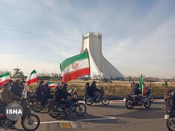 متن و حاشیه راهپیمایی ۲۲ بهمن در تهران/ عکس