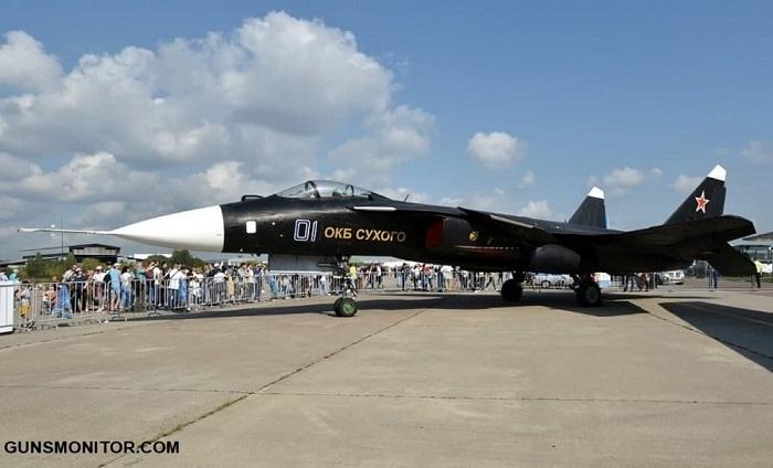 1189777 827 سوخو Su-47؛ پرندهای متفاوت که هرگز وارد خط تولید نشد/ عکس