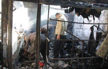 آتشسوزی در آشپزخانه حرم حضرت عبدالعظیم (ع)