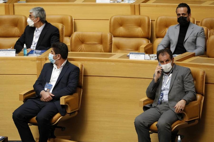 گزارش تصویری از مراسم انتخابات فدراسیون فوتبال ایران