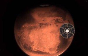 فضاپیمای آمریکا، امارات و چین در مریخ فرود میآیند