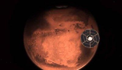 23 فضاپیمای آمریکا، امارات و چین در مریخ فرود میآیند